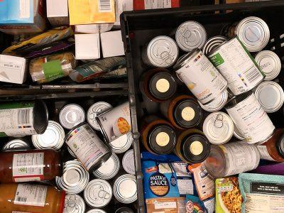 Ysgol Aberconwy's Amazing food donation to Conwy Food Bank
