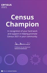 The Sanctuary Trust are Census Champions