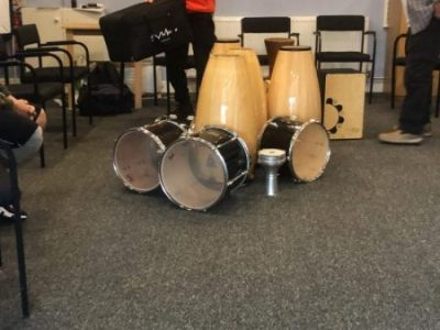 Drumming at the ROC of Rochdale