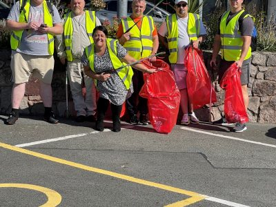 Sanctuary Trust Cornerstones does its bit to keep Wales tidy